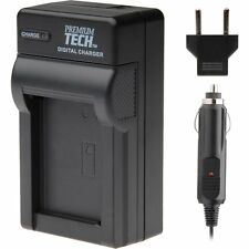 Premium Tech BP-511 Battery Charger for Canon EOS 20D 20D 30D 40D 50D 5D D30 D60