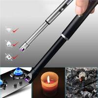 Electric Arc Flameless Cigarette Lighters Plasma Windproof USB Recharge Lighter