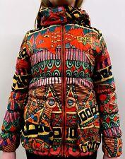 Desigual girls 11-12 years funky retro hooded coat jacket