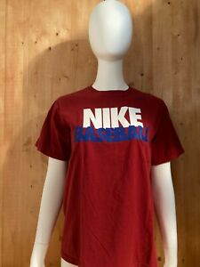NIKE BASEBALL Graphic Print Youth Unisex T-Shirt Tee Shirt XL Extra Xtra Large