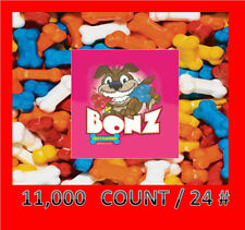 BONZ Candy Vending FREE LABEL STICKER 11000pcs. 24 pounds