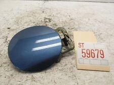 09 10 11 HONDA CIVIC 4DR SEDAN FUEL FILLER DOOR LID OEM ATOMIC BLUE SCRATCH