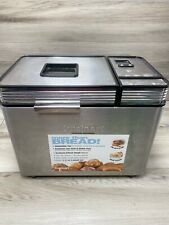 New listing Cuisinart Cbk-200 2lb Convection Breadmaker Automatic Bread Machine - Stainless