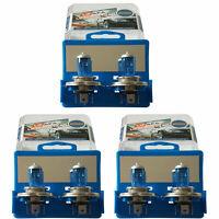 12x H4 55W 12V 5000K Xenon HID Halogen Headlight Super White Car Light Bulbs LF