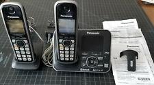 Panasonic KX-TG7622 2-Handset Link-to-Cell Bluetooth Cordless Phone System Works