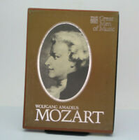 Time Life Great Men Of Music Wolfang Amadeus Mozart 4 Cassette Tape Set