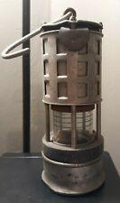 Vintage Coal Miner's Koehler 209 Permissible Flame Safety Lamp Lantern Tag Popp