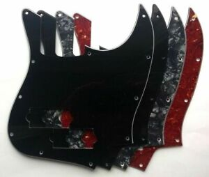 Jazz Bass Pickguard to fit MiJ Aerodyne Japan: many colours - 1, 3 or 4 ply