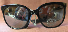 True Vintage Spalding Tennis Sunglasses, NOS from '80s, black frame, cord