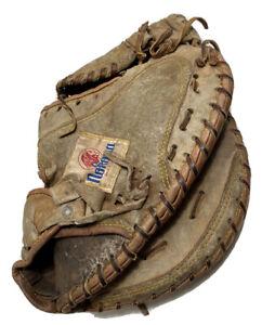 "NOKONA CM275 ""Tex-Siz-Trap"" Right Hand 33"" Catchers Mitt Preowned"