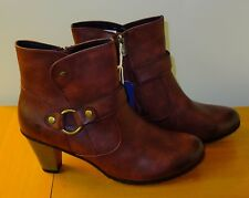 Tolle Tom Tailor Stiefeletten Stiefel Bordeaux Gr. 42 @KLASSE@