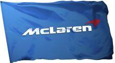 McLaren Flag Banner 3x5 ft MP4-12C Automotive Wall Garage Blue Man Cave