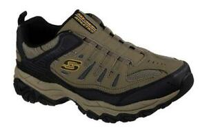 SKECHERS Men's Cross Training Slip On Sneakers in 5 Colors, Med and X Wide 3E