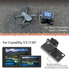 Mounting Bracket For Crystalsky Monitor&DJI Mavic/Spark Remote Controller