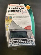 Franklin Bes-1845 Speaking Spanish English Dictionary