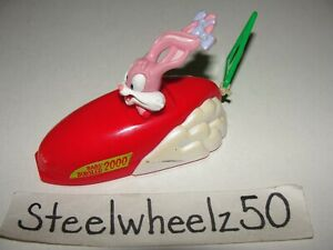Hardees Tiny Toons Bab's Blastoff Bobsled Toy 2000 Kids Meal Warner Brothers HTF