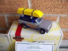 MATCHBOX 1969 CHEVROLET K/5 BLAZER TRUCK, MALLARD ACRES, DIE-CAST, MIB WITH COA