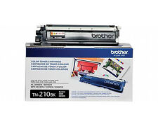 GENUINE OEM BROTHER TN210BK BLACK TONER CARTRIDGE