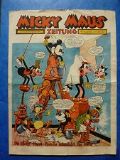 Micky Maus Zeitung Bollmann 1937 Originalheft Nr. 4 Disney Tapezieren
