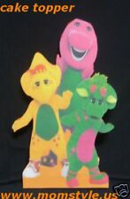 Barney & friends  Birthday Party Cake topper