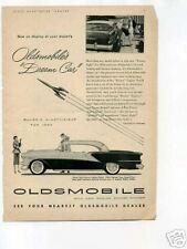 Oldsmobile Automobile 1954 Original Vintage Ad