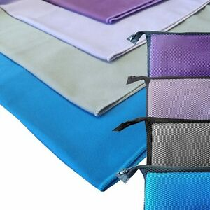 Microfibre Travel - Quick Dry Towel in Stunning Colours