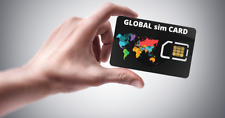 INTERNATIONAL  SIM card 1 GB  - 7 days UNLIMITED & REUSABLE
