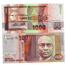 Capo Verde Cape Verde 1000 escudos 1989 FDS UNC pick 60  rif. 72