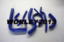 Blue silicone radiator hose for SUZUKI SAMURAI 1981-1996