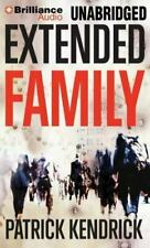 Extended Family, Patrick Kendrick (2012 MP3 CD Unabridged) Audio Book Free Ship!