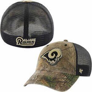 47 Brand Los Angeles Rams realtree Huntsman Camo  hat