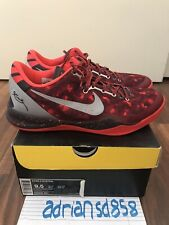 Nike Kobe 8 YOTS Port Wine Year of the Snake Men's Size 9.5 Red Basketball Shoes