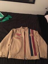 GULF Cuir Racing Jacket, LeMans, Steve McQueen