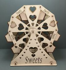 Y28 MDF Ferris Wheel Sweet Table Display Weddings Parties Laser Cut Decoration