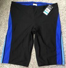 Speedo Men's Endurance+ Launch Jammer Size M 36 Black Blue NWT