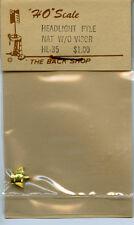 Original PFM/The Back Shop HL-35 Headlight, Pyle Nat.w/o Visor. - NOS