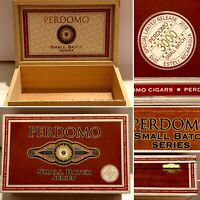 Perdomo Cigar Box Empty 2015 Special Limited Release 3000 Small Batch Wooden Box