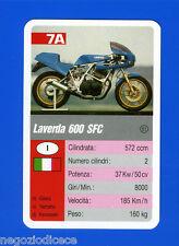 [GCG] SUPERCARTINE - SCHMID - Figurina-Sticker n. 7A - LAVERDA 600 SFC