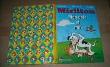MIRLITON MON POTE ET MOI N°2 CAUVIN MACHEROT (histoires Journal Tintin)