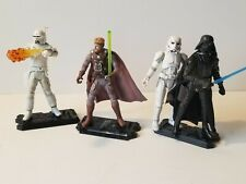 Star Wars 3.75 Mcquarrie Concept Figure Lot As Is