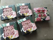 L@@k!!! Maude Ashbury & Anna Griffin enamel flower Push Pins Set of 20