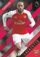 Alexandre Lacazette - 2017/18 Topps Premier League Gold Soccer Trading Card ,(