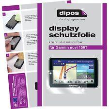 2x Garmin nüvi 150T Schutzfolie klar Displayschutzfolie Folie dipos Displayfolie
