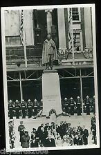 LONDON the Unveiling of the Franklin D Roosevelt Statue Grosvenor Sq  1948  RP