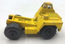 Maisto miniature Vintage Caterpiller style Yellow Construction Excavation Truck