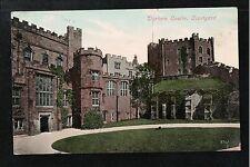 L@@K  Durham Castle Courtyard 1907 Postcard ~ FAIR QUALITY CARD