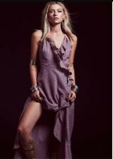 free people maxi wrap dress