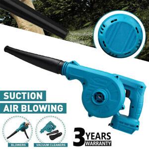 For Makita Cordless Garden Leaf Blower Electric Air Vacuum Snow Dus 15000r/min
