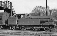 PHOTO  LMS LEIGHTON BUZZARD RAILWAY STATION AND HEADED BY LNWR 0-6-2T NO. 6917