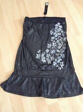 BRAND NEW With Tags MISO Boob Tube Top (Size 8) Grey Floral Design